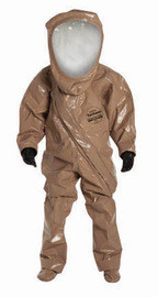DuPont RC550TTNMD7W Med SafeSPEC 2.0 18 mil Tychem Responder CSM Chemical Protection Suit