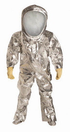 DuPont RF600TSVLG7S Lg SafeSPEC 2.0 40 mil Tychem Reflector Chemical Protection Suit