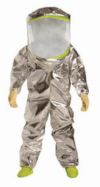 DuPont TK600TLY4X00 4X SafeSPEC 2.0 40 mil Tychem Reflector Chemical Protection Suit
