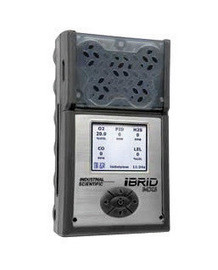 Industrial Scientific MX6-KJ736211 iBrid Combustible Gas CO H2S O2 NH3 Cl Monitor