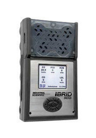 Industrial Scientific MX6-K1235101 iBrid Combustible Gas CO H2S O2 SO2 Monitor