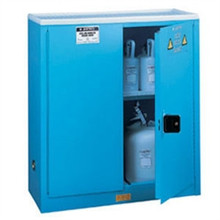 Justrite 8945822 45 Gal ChemCor 18 Gauge Cold Rolled Steel Safety Cabinet