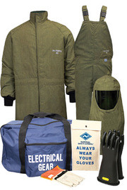 National Safety Apparel K4SCLT40LG10 Lg ArcGuard RevoLite HRC Level 4 Arc Flash Kit
