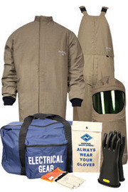 National Safety Apparel KIT4SCPRLG10 Lg ArcGuard DuPont Protera HRC Level 4 Arc Flash Kit