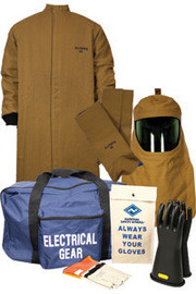 National Safety Apparel KIT4LC50XL10 XL ArcGuard Nomex/Kevlar HRC Level 4 Arc Flash Kit
