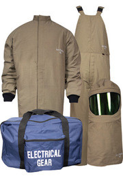 National Safety Apparel KIT4SCPR2XNG 2X ArcGuard DuPont Protera HRC Level 4 Arc Flash Kit