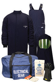 National Safety Apparel KIT4SC404X10 4X ArcGuard Compliance UltraSoft HRC Level 4 Arc Flash Kit