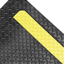 Superior 490R4875YB Notrax 4x75 Ft 9/16 In Rubber Sponge Dura Trax Safety Floor Mat