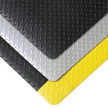 Superior 979C0060YB75 Notrax 5x75 Ft 1 In Vinyl Saddle Trax Grande Safety Floor Mat
