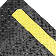Superior 990R2475YB Notrax 2x75 Ft 1 In Rubber Dura Trax Grande Safety Floor Mat