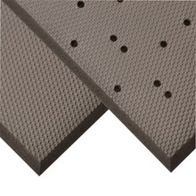 Superior 441R3675BL 3x75 Ft Solid 3/4 In PVC Nitrile Foam Blend Superfoam Safety Floor Mat