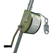 Miller by Honeywell 8442/100FT ManHandler Man-Rated 3/16in Galvanized Wire Rope Hoist
