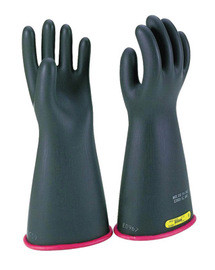 "Salisbury By Honeywell E416RB/10H Size 10.5 16"" Type I Class 4 High Voltage Linemen Gloves"