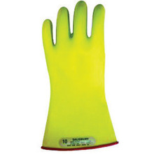Salisbury By Honeywell E0011RY/10 Size 10 11in Type I Class 00 Low Voltage Lineman Gloves
