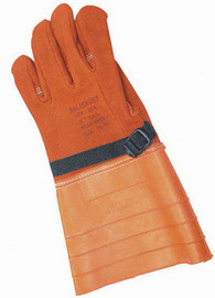 Salisbury By Honeywell 156-6/10 Size 10 14in Grade A Leather Class 4 Lineman Glove Protector