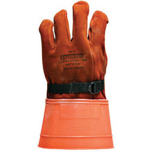 Salisbury By Honeywell 156-4/8 Size 8 12in Grade A Leather Class 4 Lineman Glove Protector