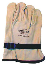 Salisbury By Honeywell ILP10A/12 Size 12 10in Cowhide High Voltage Lineman Glove Protector