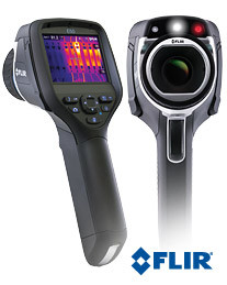 FLIR E50 Compact Infrared Thermal Imaging Camera with MSX