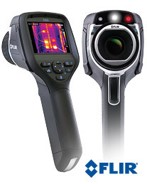 FLIR E60 Compact Infrared Thermal Imaging Camera with MSX