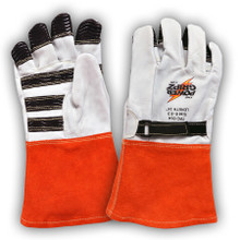 Power Gripz TPG-014 14in Leather Protector Lineman Gloves