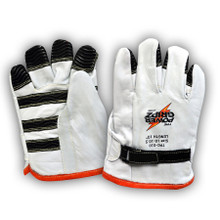 Power Gripz TPG-010 10in Low Voltage Leather Protector Lineman Gloves