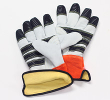 Power Gripz TPG-WG10K 10in Kevlar Leather Utility Lineman Gloves