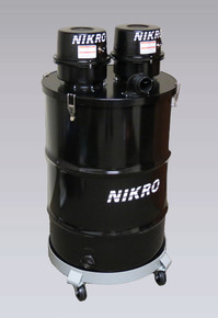 Nikro DP55DUAL 55 Gallon Industrial Dry Wet Vacuum