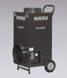 Nikro UR800-22050 Upright Air Scrubber 220V / 50 Hz