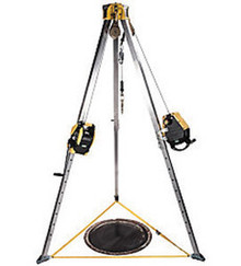 MSA 10163033 8' Workman Tripod Confined Space Entry Kit