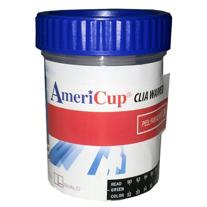 The 5 Panel All-In-One CLIA Waived Drug Testing Cup can be used for the qualitative detection of most of the drug metabolites found in human urine at particular cutoff levels. It supplies faster results than our competitor's cups. Our CLIA Waived test cup, will allow you to obtain quicker RESULTS, with easier readable strips.