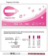 hCG Pregnancy Test Strip (Case of 20)