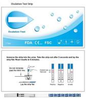 LH Ovulation Test (Case of 50)