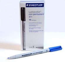 Pen: Staedtler Fiber Tip Pen, Blue, 10 pack