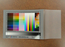 Calibration: IT8 Color Target for Colortrac Ci Scanners