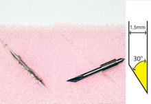 Blade: Graphtec CB15U-K30, 1.5mm, 30 degree, without spring