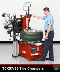 Table Top TCX57 and TCX56 Tire Changers