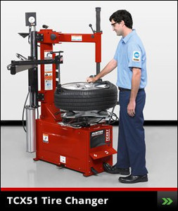 Table Top TCX51 Tire Changer