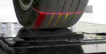 Quick Tread Edge Inspection System