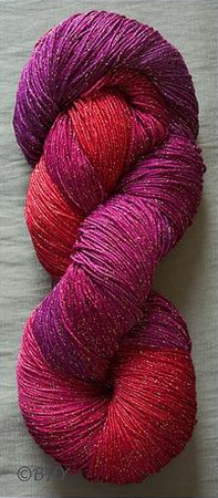 Blue Heron Rayon Metalic - Raspberry