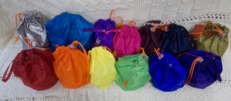 Available in these colors: silver, turquoise, orchid, pink, maroon, navy, gold, red, orange, yellow, green, blue, and purple.