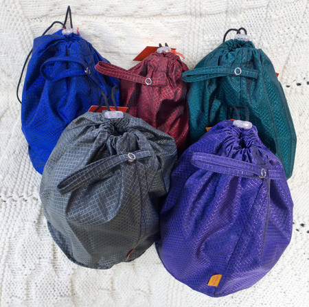 Back Row: sapphire, ruby, emerald. Front Row: platinum and amethyst.