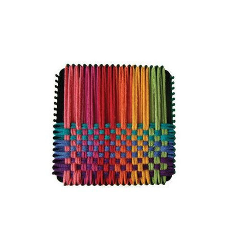 Make colorful potholders for your home, as gifts or to sell as a fund-raiser for your school, church, or club.