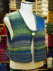 The pattern to create this lovely cropped vest is yours FREE with a purchase of the Noro Silk Garden self-striping yarn you use to create it!
