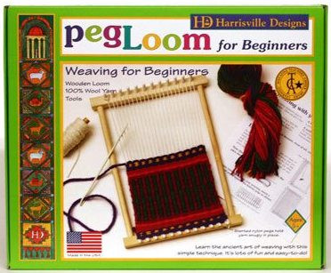 Recommended for ages 5 and older. PegLoom includes everything needed for a complete woven project!