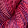 The yarn has a wonderful bounce and hand. Various colors, suitable for accessories and garments. Try pairing this yarn with the solid DK Merino Superwash.