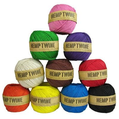 Hemp Traders Hemp Twine - Red