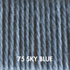 Ewe Ewe Fluffy Fingering 75 - Sky Blue