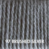 Ewe Ewe Fluffy Fingering 97 - Brushed Silver