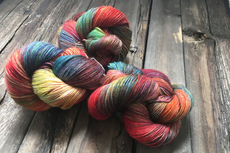 BFL Cashmere Silk 903 - Anything Goes