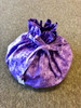 Celene Project Bag - Purple Flowers